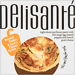 Delisanté Roasted Pepper & Goat's Cheese Tartlet 160g