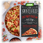 Calories In Asda Thin Stonebaked Spicy Meat Feast Pizza 290g