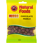 Natural Foods Chocolate Hazels 80g