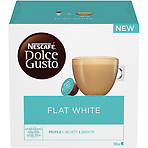 NESCAFE Dolce Gusto Flat White Coffee Pods 16 Capsules per Box