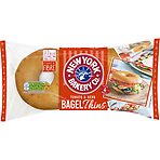 New York Bakery Co. 4 Tomato & Herb Sliced Bagel Thins
