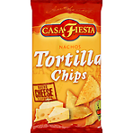 Casa Fiesta Nachos Tortilla Chips Nacho Cheese Flavoured 453 g