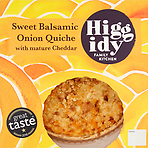 Higgidy Family Kitchen Sweet Balsamic Onion Quiche with Mature Cheddar 400g