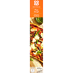 Calories In Co Op Ready Rolled Pizza Dough 400g Nutrition