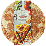 Calories In Ms The American Pepperoni Stonebaked Pizza 456g