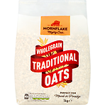 Mornflake Mighty Oats Wholegrain Traditional Oats 1kg