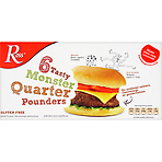 Ross 6 Tasty Monster Quarter Pounders 681g
