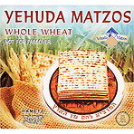 Yehuda Matzos Whole Wheat 300g