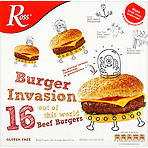 Ross Burger Invasion 16 Beef Burgers 908g
