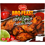 Sizzlerz BBQ Feast Hot & Spicy Chicken Wings 500g