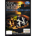 Scottish Shellfish Scottish Cooked Mussels in Garlic Butter Sauce 450g