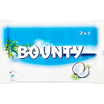 Bounty Coconut Milk Chocolate Duo Bars Multipack 7 x 57g