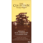 The Collection Organic Milk Chocolate & Almond Bar 100g