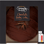 Waitrose Seriously Chocolatey Chocolate Fudge Cake