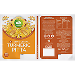The Food Doctor Seed & Cereal Turmeric Pitta 6 x 60g