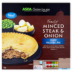 Calories in Asda Chosen by You Family Minced Steak & Onion ...