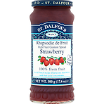 St. Dalfour High Fruit Content Spread Strawberry 500g