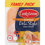 Cookstown Crumbed Deli Style 16 Ham Slices Family Pack 320g