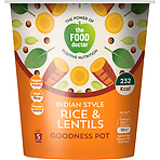 The Food Doctor Indian Style Rice & Lentils Goodness Pot 70g