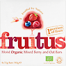 Lyme Regis Foods Fruitus Moist Organic Mixed Berry and Oat Bars 4 x 35g (140g)
