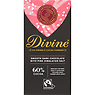 Divine Fairtrade Chocolate Smooth Dark with Pink Himalayan Salt 90g