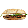 McDonald's Chicken Legend Burger with Cool Mayo