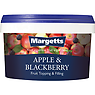 Margetts Apple & Blackberry Fruit Topping & Filling 2.5kg