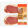 Danish Sizzling 20 Smoked Back Bacon Rashers 2 x 275g