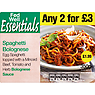 Fed Well Essentials Spaghetti Bolognese 350g