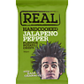 Real Handcooked Jalapeno Pepper Flavour Potato Crisps 50g