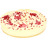 Ministry of Cake 12 White Chocolate & Pomegranate Cheesecake 1.52kg
