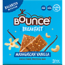 Bounce Breakfast Madagascan Vanilla High Fibre Protein Bar 3 x 45g