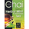 Chai Xpress Uplifting Herbal Mint & Lemon Grass Tea 40 Premium Tea Bags 80g