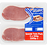 Direct Table Sizzling 16 Danish Unsmoked Back Bacon Rashers Special Twin Pack 2 x 250g