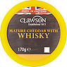 Clawson Mature Cheddar with Whisky 170g