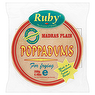Ruby Plain Poppadums 200g