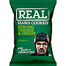 Real Handcooked Strong Cheese & Onion Flavour Potato Crisps 35g