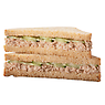Greggs Tuna Mayonnaise & Cucumber Sandwich on Malted Brown Bread