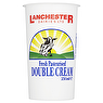 Lanchester Dairies Fresh Pasteurised Double Cream 250ml