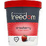 Worthenshaws Freedom Strawberry Frozen Dessert 480ml