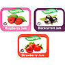 Newforge Assorted Jam Pack 96 x 20g (1,92kg) Strawberry