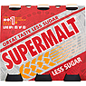 Supermalt Less Sugar Non-Alcoholic Malt Beverage with B Vitamins 6 x 330ml