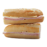 Greggs Honey Roast Ham & Mature Cheddar Cheese Baguette