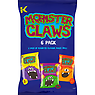 Kolak Monster Claws 6 Pack 120g Roast Beef Flavour Maize Snacks