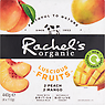 Rachel's Organic Luscious Fruits Peach Mango Naturally Bio-Live Yogurt 4 x 110g (440g)