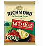 Richmond 14 Thick Frozen Pork Sausages 634g