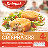 Dalepak Cheese & Bacon Crispbakes 4 Pack 360g