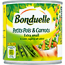 Bonduelle Petits Pois & Carrots Extra Small in Water, Sugar & Salt Added 400g
