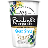 Rachel's Organic Limited Edition Greek Style Blueberry & Vanilla Naturally Bio-Live Yogurt 450g
