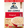 Quaker Oat So Simple Original Family Pack Porridge Sachets 20x27g